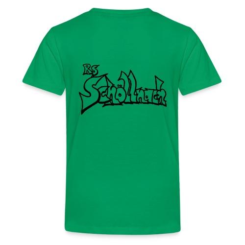 Kinder Premium T-Shirt grün (Größe 146/152/158/164) - Teenager Premium T-Shirt