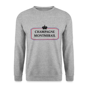 Sweat Homme Champagne Montmirail - Sweat-shirt Homme