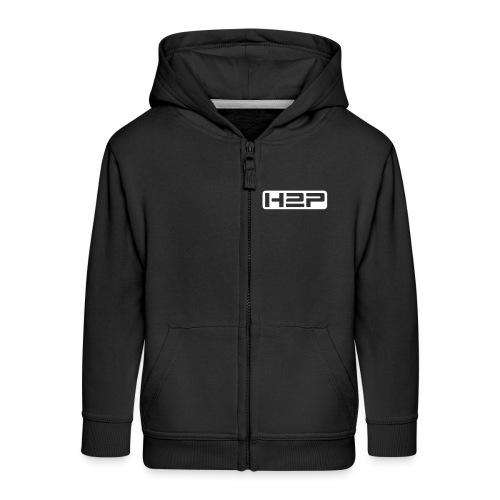 Veste zippée à capuche enfant H2P New Age (Logo blanc) - Veste à capuche Premium Enfant