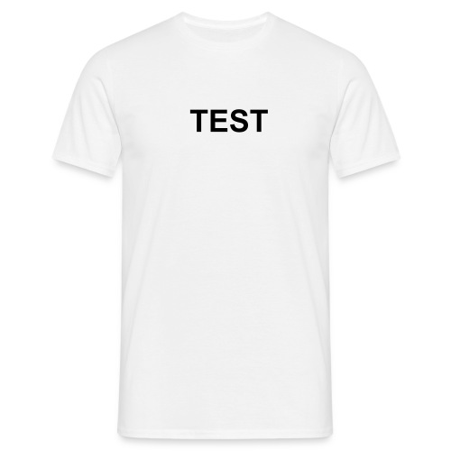 test - Men's T-Shirt