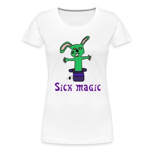 Sick Magic!!! (women) - Women's Premium T-Shirt