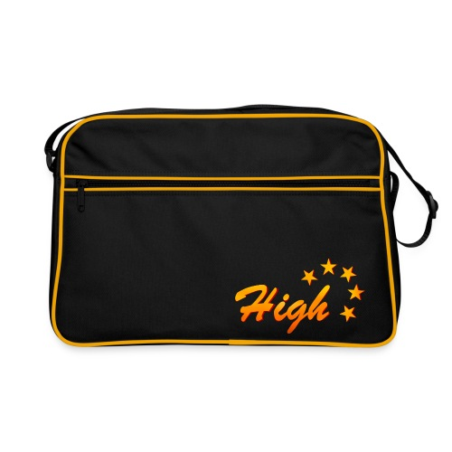 Retro Tasche mit großem Logo - Retro Tasche