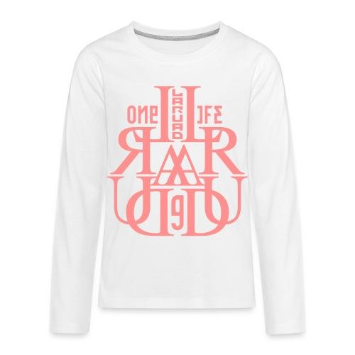 17 - Teenagers' Premium Longsleeve Shirt