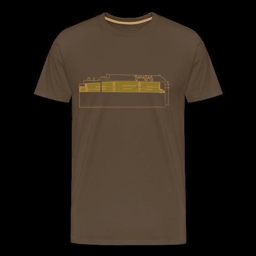 Graffiti SuperGayS - Männer Premium T-Shirt