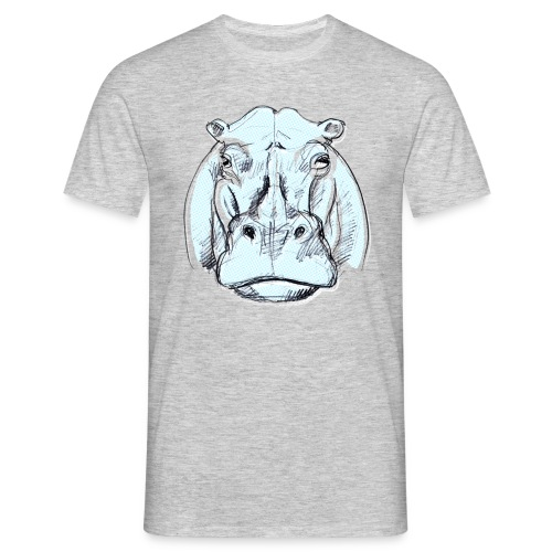 hippo - Männer T-Shirt