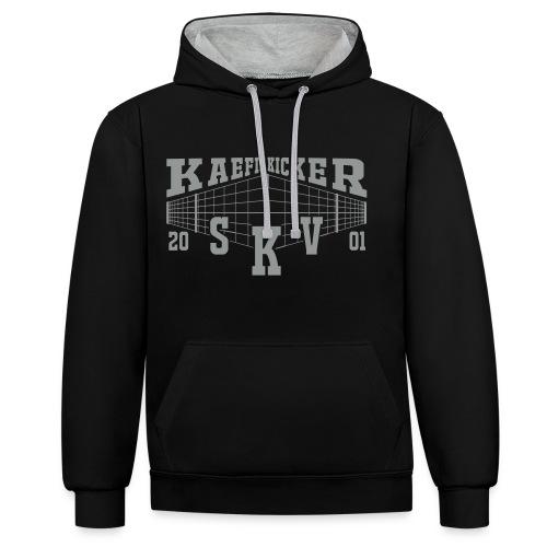 Käfig Kicker Hoodie - Kontrast-Hoodie