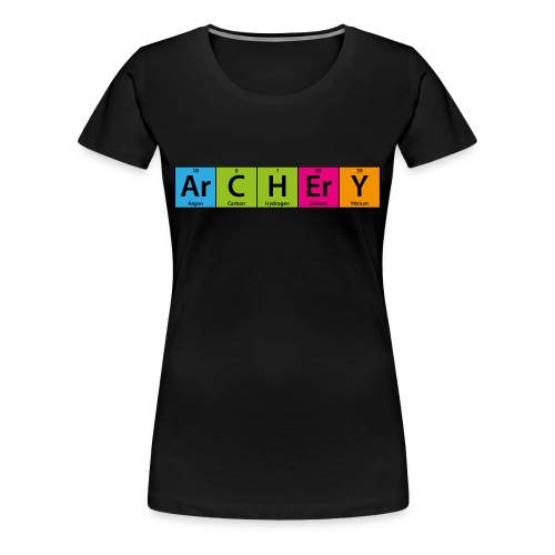 ArCHErY Periodensystem - Frauen Premium T-Shirt