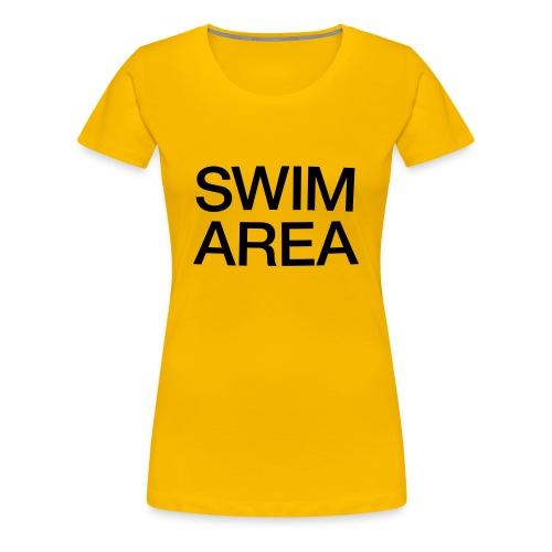 SWIM AREA Buoy T-shirt (women) - Women's Premium T-Shirt