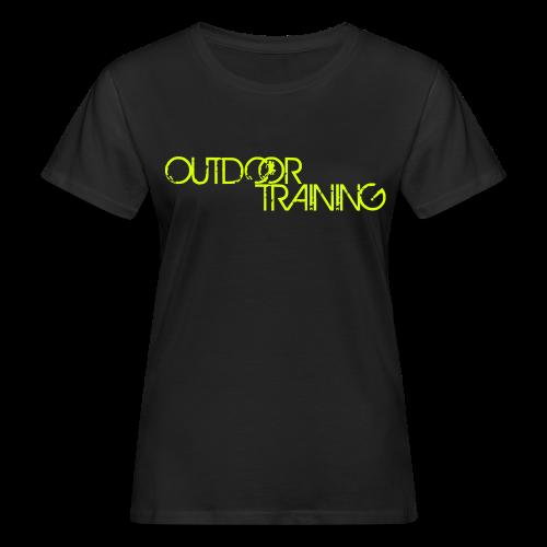 OutdoorTraining Femme Réfléchissant - BIO - T-shirt bio Femme