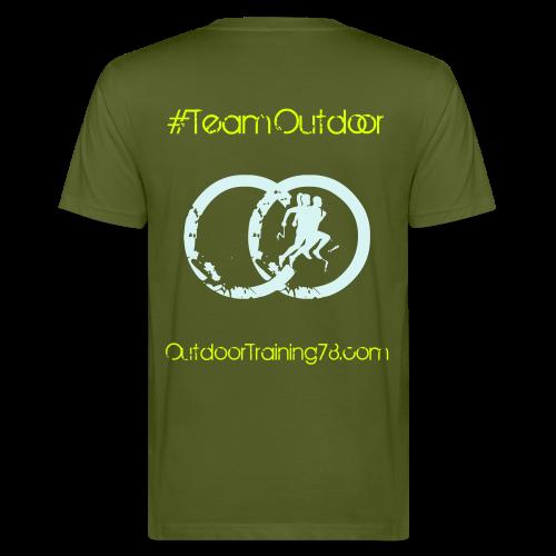 OutdoorTraining Homme Réfléchissant - BIO - T-shirt bio Homme
