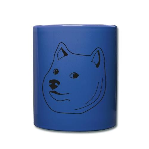Doge Mug - Tasse einfarbig
