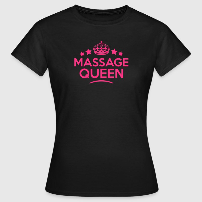 massage queen keep calm style WOMENS T-SHIRT - Women's T-Shirt