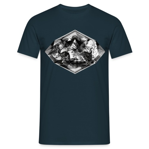 black triangle - Koszulka męska