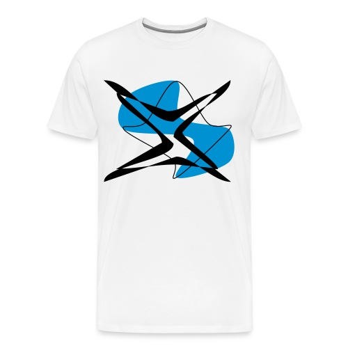 """emptylabel """"stern""""männer t-shirt - Männer Premium T-Shirt"""
