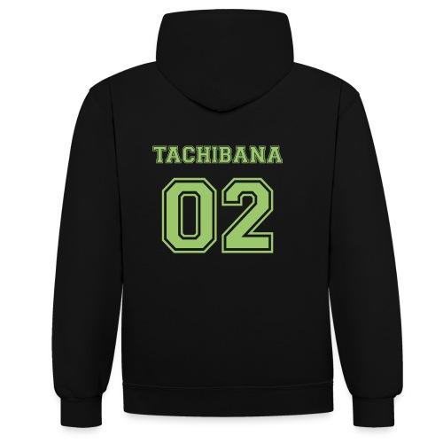 Tachibana - Contrast Colour Hoodie