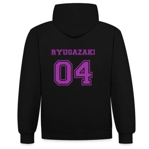 Ryugazaki - Contrast Colour Hoodie