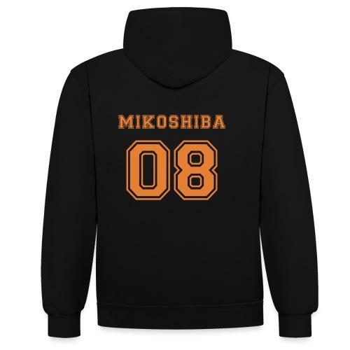 Mikoshiba - Contrast Colour Hoodie