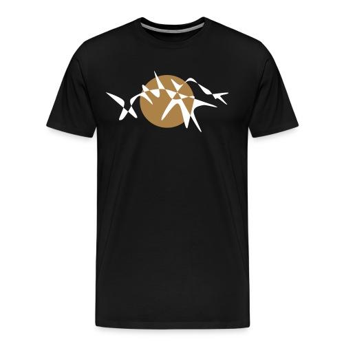 """emptylabel """"snake"""" männer t-shirt - Männer Premium T-Shirt"""