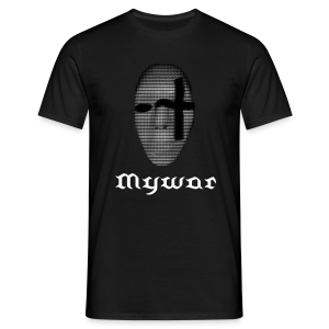 Mywar sik Mask Men - Männer T-Shirt