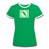 Tee shirts ~ Tee shirt contraste Femme ~ MARTINIQUE SHINING