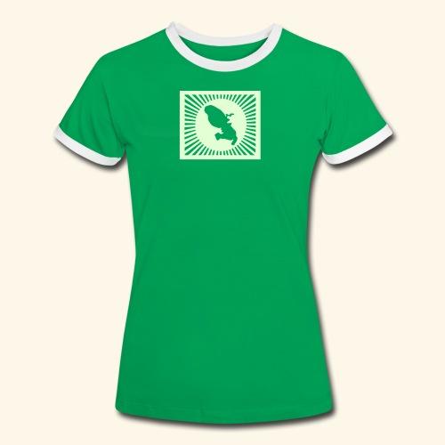 MARTINIQUE SHINING - T-shirt contrasté Femme
