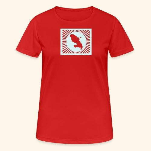 MARTINIQUE SHINING - T-shirt respirant Femme