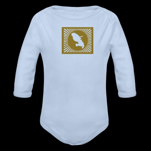 customize Martinique fashion - Organic Longsleeve Baby Bodysuit