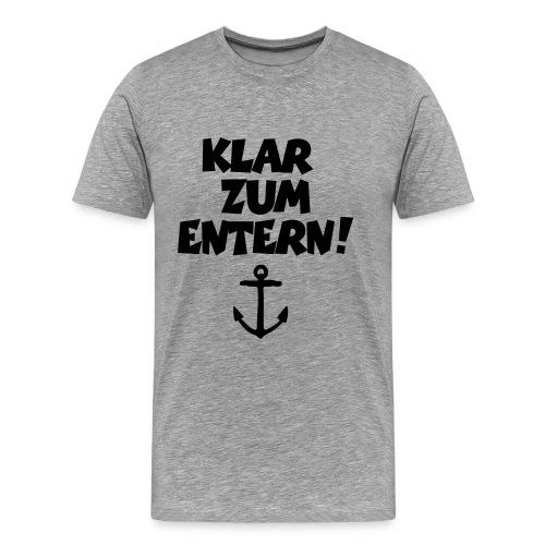 Freizeitshirt Anchor - Männer Premium T-Shirt