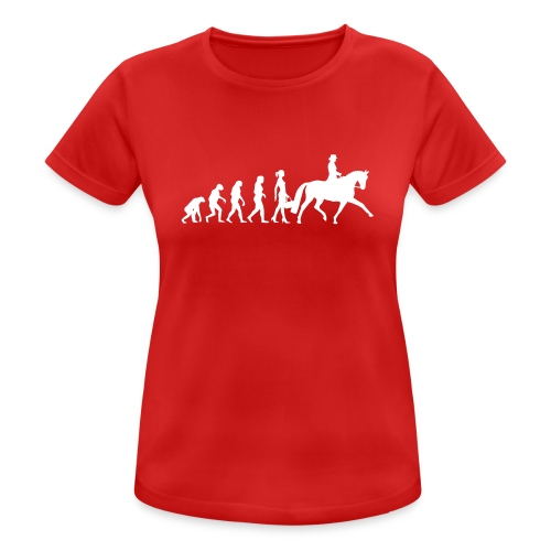 Reiter Evolution - Frauen T-Shirt atmungsaktiv