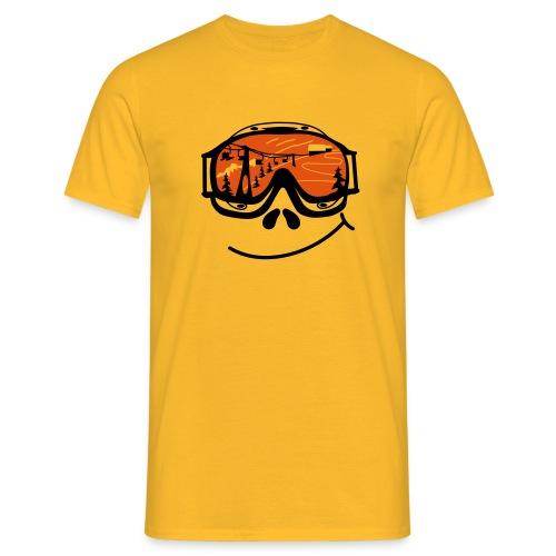 Smileygoggle - Männer T-Shirt