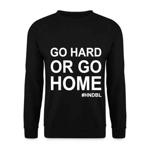 HNDBL Go hard - Men's Sweatshirt