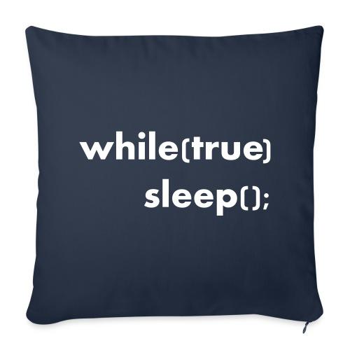 While True Sleep Sofakissenbezug 44x44 - Sofakissenbezug 44 x 44 cm