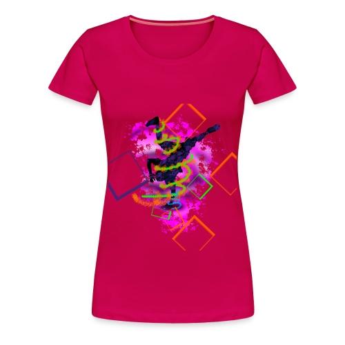 Breakdance - Frauen Premium T-Shirt