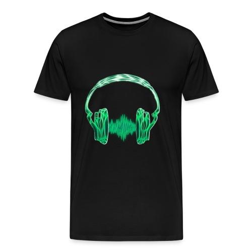 Kopfhörer - Männer Premium T-Shirt