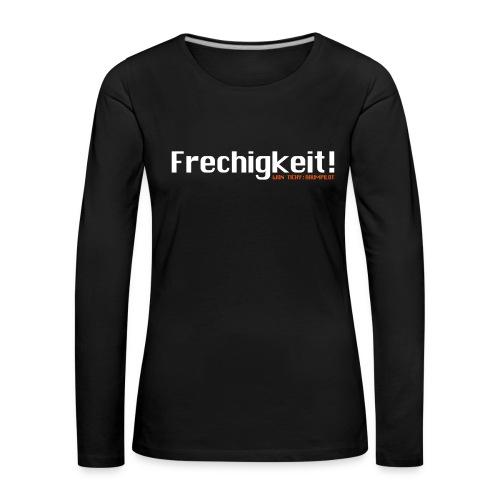 Ijon Tichy: Raumpilot Frauen Langarmshirt  - Frauen Premium Langarmshirt
