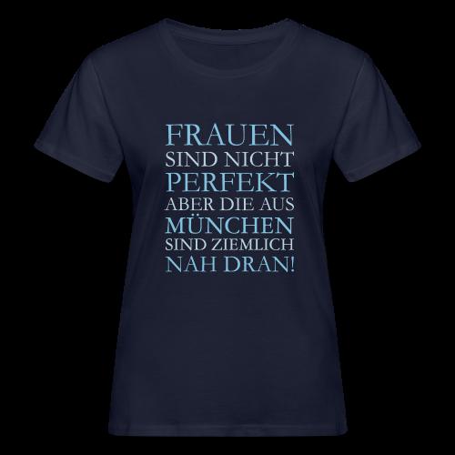 Frauen aus München (Hellblau) Bio T-Shirt - Frauen Bio-T-Shirt
