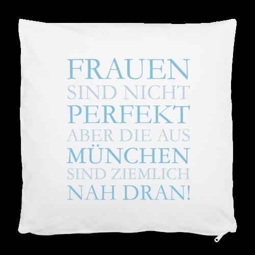 Frauen aus München (Hellblau) Kissenbezug - Kissenbezug 40 x 40 cm