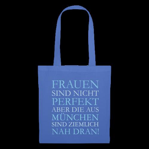 Frauen aus München (Hellblau) Stoffbeutel - Stoffbeutel