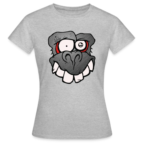MONKEYFACE ladies - Frauen T-Shirt