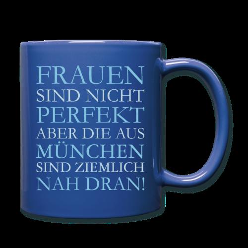 Frauen aus München (Hellblau) Tasse - Tasse einfarbig