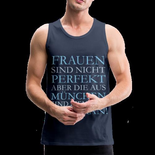 Frauen aus München (Hellblau) Tank Top - Männer Premium Tank Top