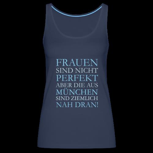 Frauen aus München (Hellblau) Tank Top - Frauen Premium Tank Top