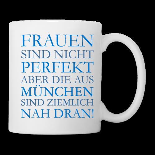 Frauen aus München (Blau) Tasse - Tasse
