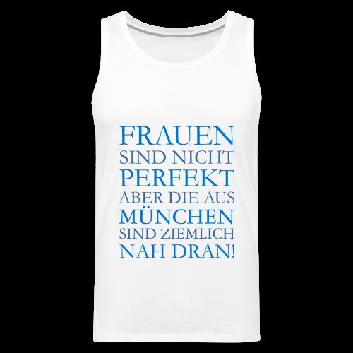 Frauen aus München (Blau) Tank Top - Männer Premium Tank Top