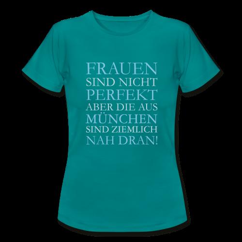 Frauen aus München (Hellblau) T-Shirt - Frauen T-Shirt