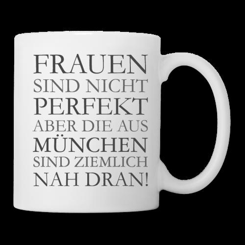 Frauen aus München (Schwarz) Tasse - Tasse