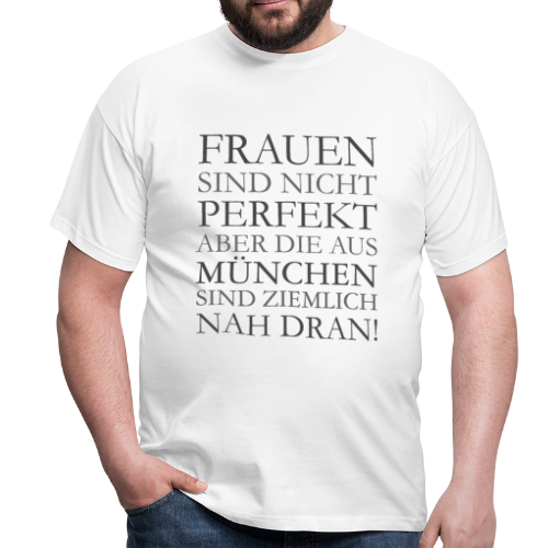 Frauen aus München (Schwarz) T-Shirt - Männer T-Shirt