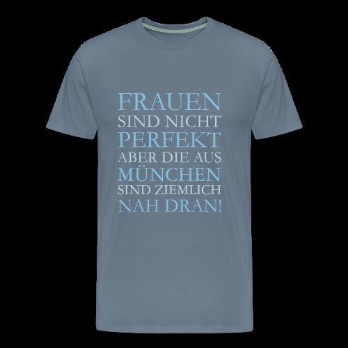 Frauen aus München (Hellblau) S-5XL T-Shirt - Männer Premium T-Shirt
