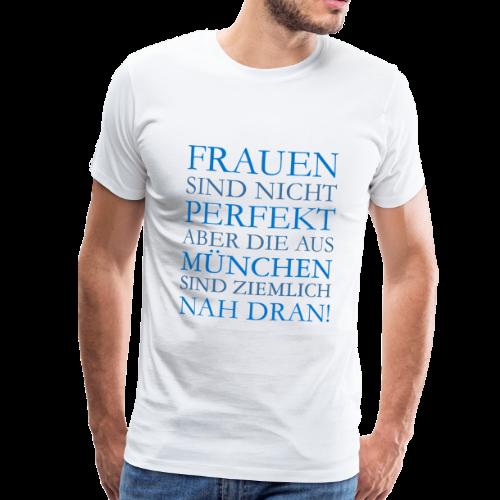 Frauen aus München (Blau) S-5XL T-Shirt - Männer Premium T-Shirt