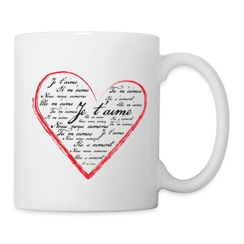 Je t'aime - Mug blanc